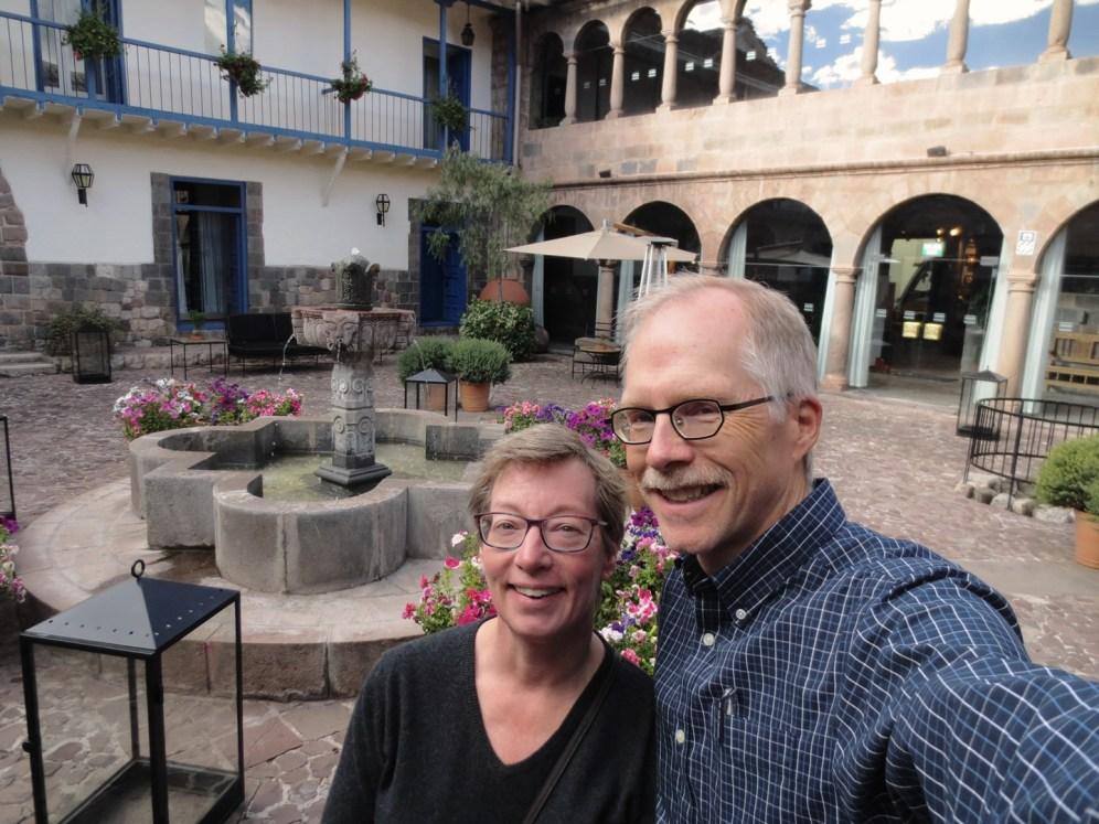 Palacio del Inka Cusco hotel before Salkantay trek to Machu Picchu