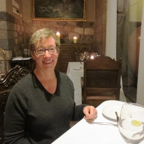 Dinner at Palacio del Inka