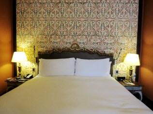 room at Palacio del Inka Cusco before Salkantay trek to Machu Picchu