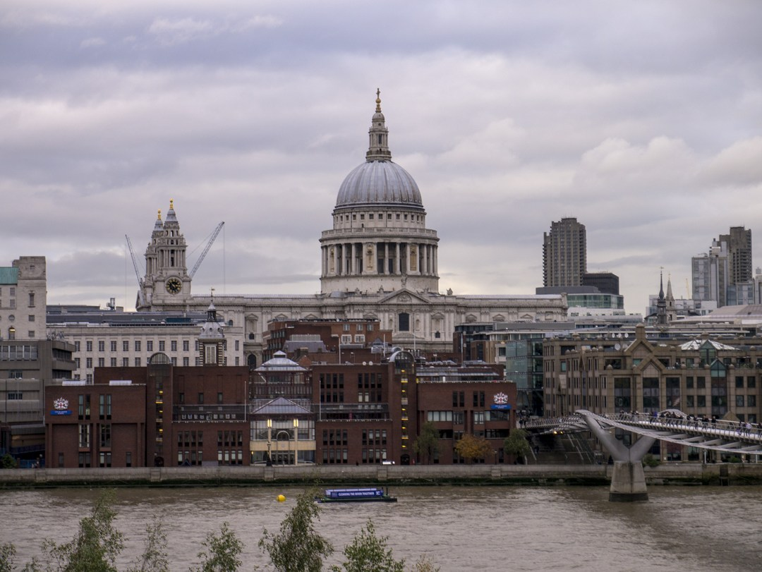 St. Paul's, as seen from the Tate Modern Museum