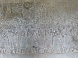 Prozession von Suryavarman II
