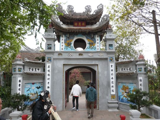 Eingang zum Jadeberg-Tempel