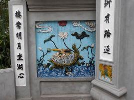 Die mythische Schildkröte mit dem Zauberschwert