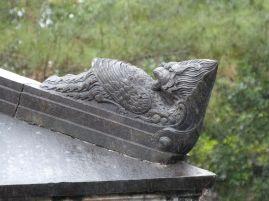 Eckakroter am Sarkophag von Tu Ducs Frau Le Thien Anh