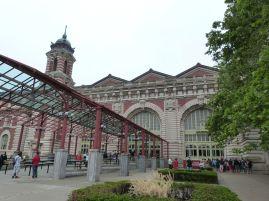 Empfangsgebäude auf Ellis Island