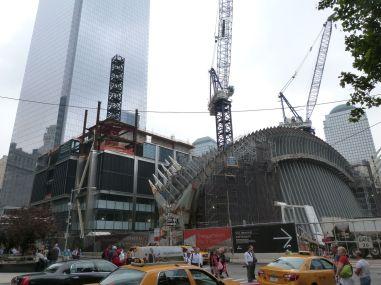 Baustelle am Ground Zero