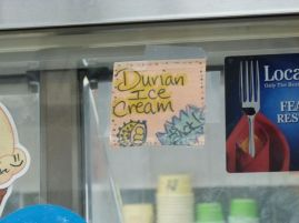 Lecker Durian-Eis ;-)