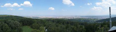 Blick auf Wien von der Jubiläumswarte