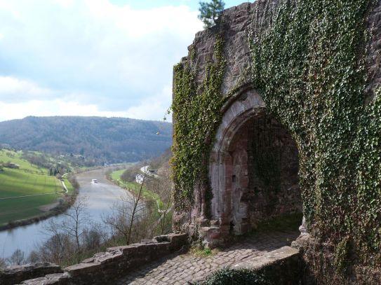 Burgenromantik an der Hinterburg