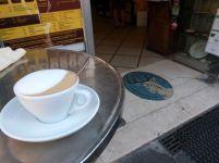 Echter Cappuccino bei S. Eustacchio