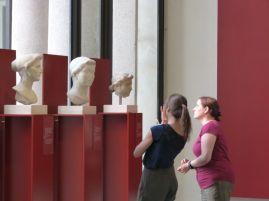 Zwiegespräch mit der Kaiserfamilie im Palazzo Massimo alle Terme