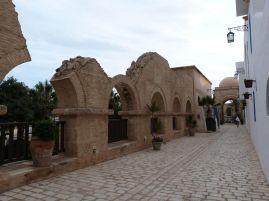 Auch die fake Medina hat ihre Ruinen