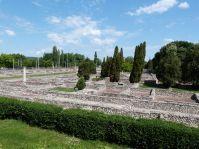 Blick auf die Zivilstadt von Aquincum