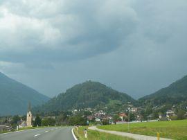 Der Danielsberg - schon von weitem sichtbar