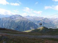 Hinauf mit der Bergbahn