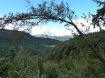 Der gegenüberliegende Ort Prossenicco ist schon in Italien