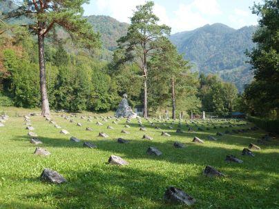 Etwa 6000 Soldaten liegen dort begraben
