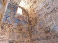 Frisch restaurierte Fresken in Qusayr Amra