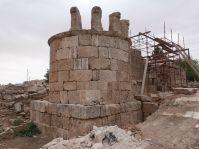 Die umayyadische Moschee von Qastal wird gerade restauriert