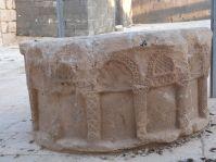 Umayyadische Brunneneinfassung in Hallabat