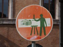 Street Art bei S. Eustachio