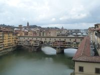 Blickt auf die Ponte Vecchio