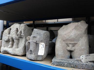 Was im Depot sonst noch für Schätze schlummern... (Corbridge Museum - English Heritage)