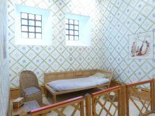 Rekonstruiertes Praetorium von Arbeia - ein Schlafzimmer