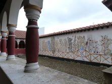 Rekonstruiertes Praetorium von Arbeia - der Garten