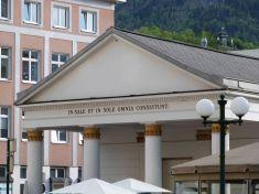 Die ehemalige Trinkhalle zum Kuren in Bad Ischl