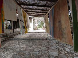 Verwunschener Pavillon am Fuße des Philopappos-Hügels