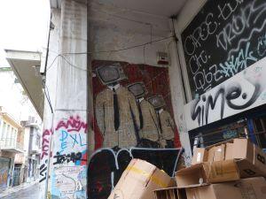 Street Art wohin das Auge reicht