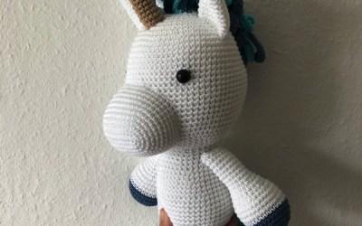 Hæklet unicorn