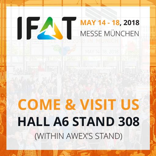 Haemers Tech at IFAT2018 Fair