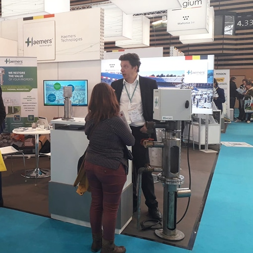 Haemers Technologies will be present at POLLUTEC