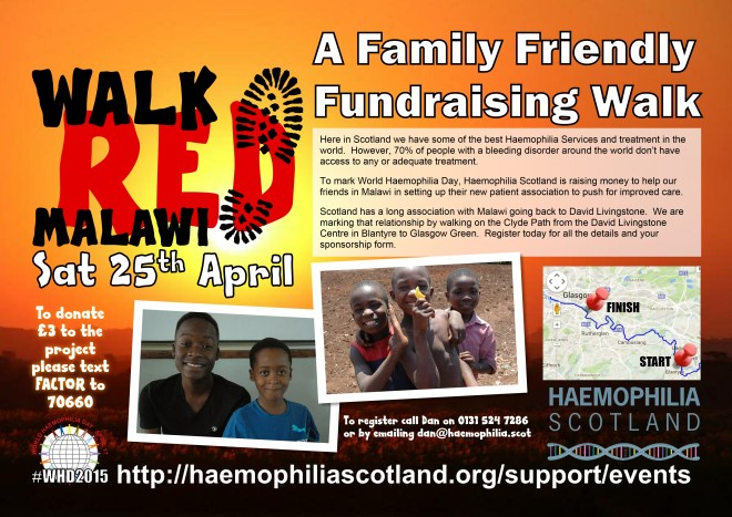 Walk RED Malawi 2015