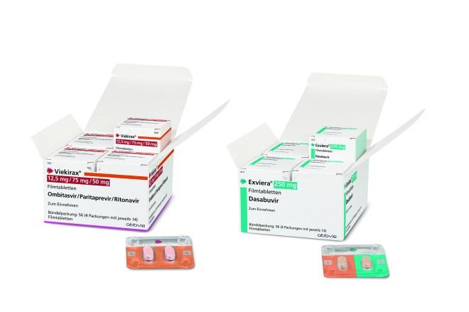 VIEKIRAX® (Ombitasvir / Paritaprevir / Ritonavir) + EXVIERA® (