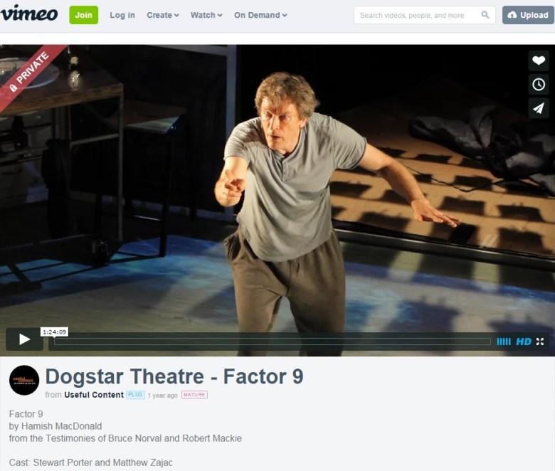 Factor 9 on Vimeo
