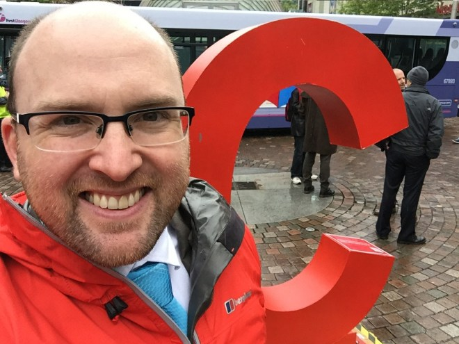 Dan's HepCScot Selfie