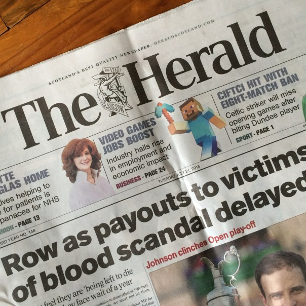 The Herald Cover