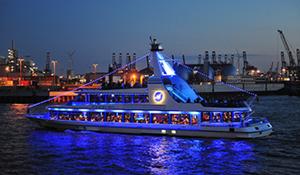Schiffsvermietung | Luxus Fahrgastschiff Hamburg