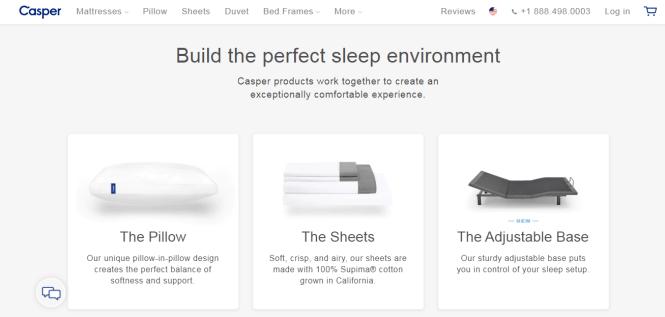Casper Product Page