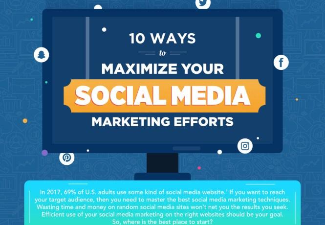 10 Tips to Maximize your Social Media Marketing Efforts
