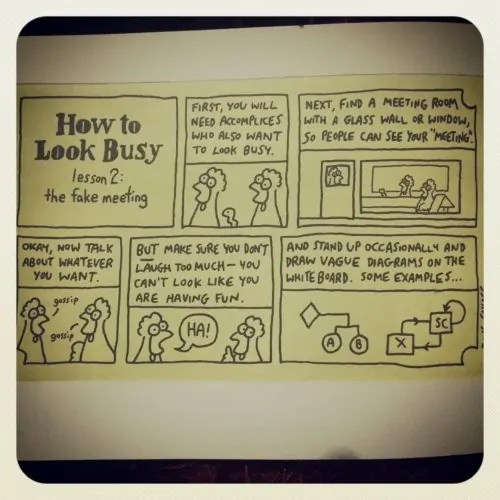 how to look busy 2