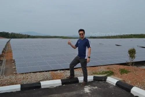 ladang solar PV Melaka-solar farm