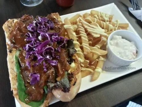 BBQ Beef Sandwich - RM19.90