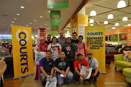 Courts Megastore - Hafiz Rahim blogger kacak
