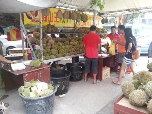 Durian murah Kajang