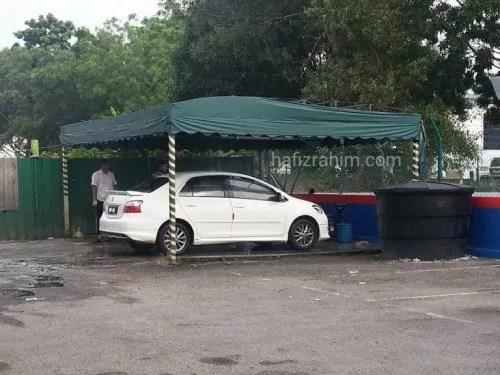 Cuci kereta toyota service center bangi