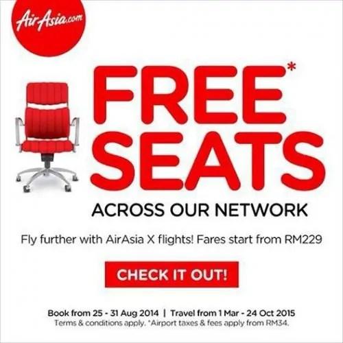 AirAsia-My Free Seats